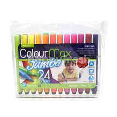 Unicorn Colour Max Jumbo - 24 Colours