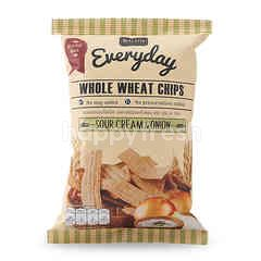 Sweet & Green Whole Wheat Chips Sour Cream & Onion Flavour