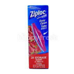 Ziploc 25 Storage Quart