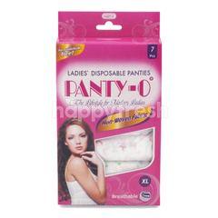 Panty-O Celana Dalam Wanita Sekali Pakai Ukuran XL