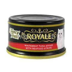 Purina Fancy Feast Royale Tuna Whitemeat Tuna Affair With Seafood Stripes