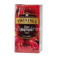 Twinings Four Red Fruits Tea (25 Tea Bags)