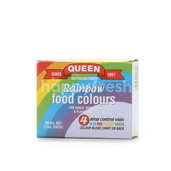Queen Rainbow Food Colours