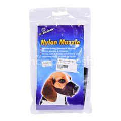 Adjustable Nylon Dog Muzzle Small
