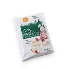 Only Organic Apple Mini Rice Cakes