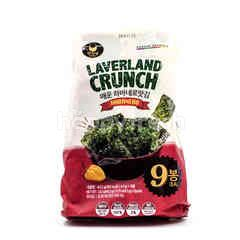 Manjun Laverland Crunch Habanero Flavor Seaweed