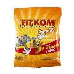 Fitkom Gummy High Vitamin C & Zinc
