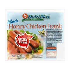 Nutriplus Honey Chicken Frankfuter Sausage