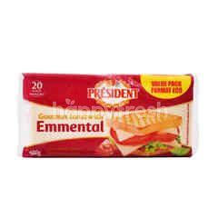 President Gourmet Toast With Emmental Cheese (20 Pieces)