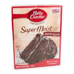 เบตตี้คร๊อกเกอร์ ซุปเปอร์มอยส์ ดีวิลส์ ฟู้ด ผงผสมทำเค้กช็อกโกแลต