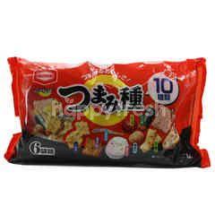 Kameda Seika Tsumami Dane Rice Crackers (6 Pieces)