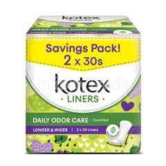 Kotex Fresh Pantyliner Daun Sireh (32 Liners)