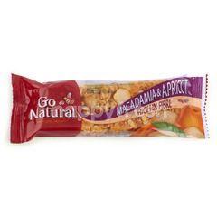 GO NATURAL Macadamia dan Aprikot