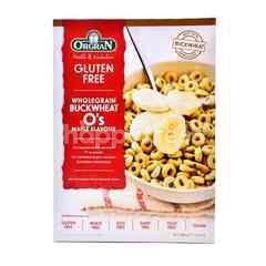 Orgran Gluten Free Wholegrain Buckwheat O's Maple Flavour