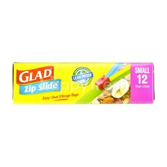 Glad Zip Slide 17cm x 21cm Small