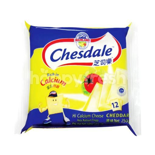 Chesdale Cheddar Cheese Slices