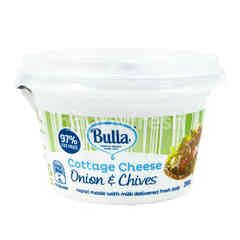 Bulla Cottage Cheese Onion & Chives