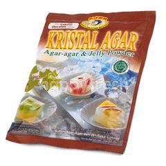 Swallow Globe Brand Kristal Agar Chocolate