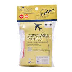 Travel Mate Cotton Disposable Panties