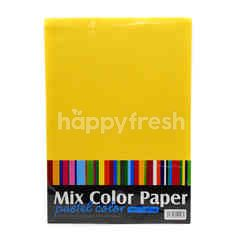 Mix Color Paper Pastel Color