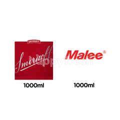 สินค้าขายยกเซ็ต สเมอนอฟฟ์ ว้อดก้า & มาลี น้ำส้มแมนดาริน 100%