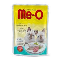 Me-o Makanan Anak Kucing Tuna dan Sarden