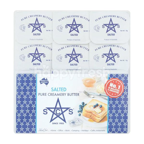 SCS Salted Pure Creamery Butter