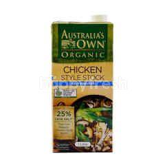 Autralia's Own Organic Chicken Style Stock (Salt Reduced)