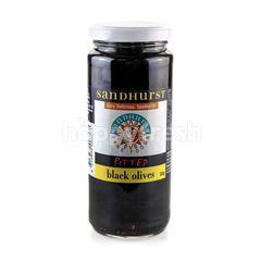 SANDHURST Pitted Black Olives