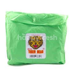 Tiger Head Teenagers Green Raincoat