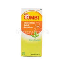 Combiphar Menthol Flavor Cough and Flu Syrup