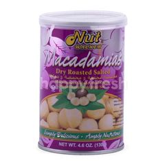 Nut Walker Macadamias Dry Roasted and Salted