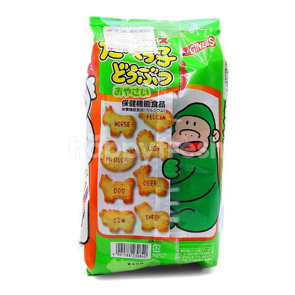 Ginbis Tabekko Doubutsu Yasai Biscuits