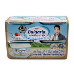 Meiji Bulgaria 0% Fat set Yoghurt