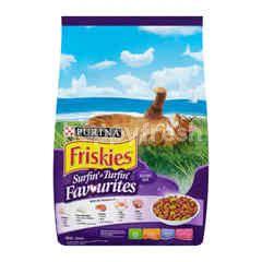 Friskies Surfin' & Turfin' Favourites Cat Food 1.2Kg