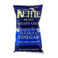Kettle Brand Potato Chips Sea Salt And Vinegar