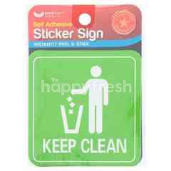 Unicorn Signage Sticker