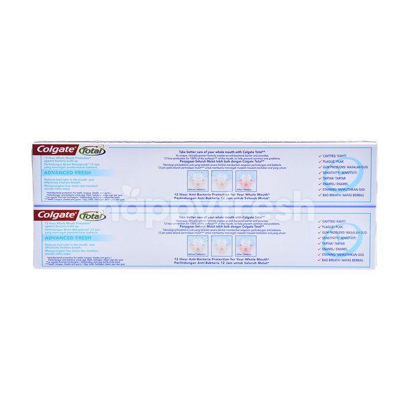 Colgate Total Advanced Fresh Antibacteria & Fluoride Toothpaste