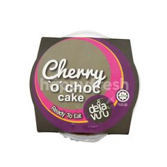 DEJA VUU Cherry 'O' Choc Cake