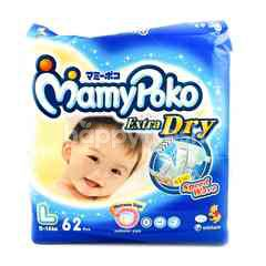 MamyPoko Extra Dry Baby Diapers Size L (62 pieces)