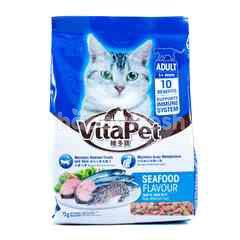 VITAPET Makanan Kucing Dewasa Rasa Makanan Laut