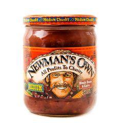 Newman's Own Medium Black Bean & Corn Salsa