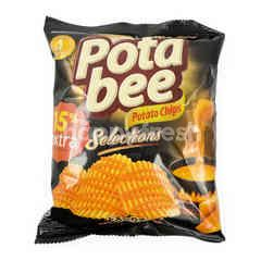 Potabee Selections Melted Cheese Potato Chips
