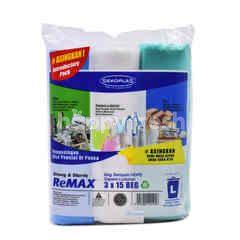 Sekoplas Remax Garbage Bag (Large) 3X15S