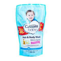Cussons Baby Head To Toe Wash Mild & Gentle Honey & Camomile