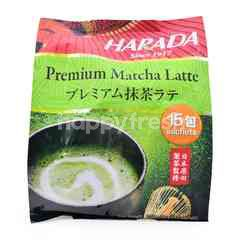 HARADA Premium Matcha Latte Drink (15 Sachets)