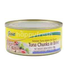 Giant Tuna Chunks In Brine