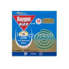 Baygon Jumbo Mosquito Repellent Standard Aroma