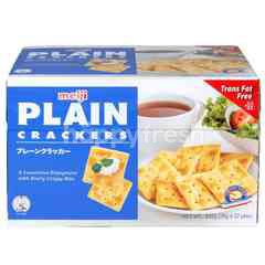 Meiji Plain Crackers (32 Packs)