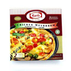 Kart's Chicken Mushroom Handmade Pizza